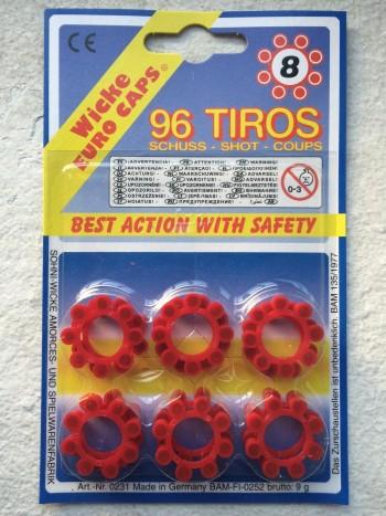 PISTONES 8 TIROS*1 R-960/8 7080/53