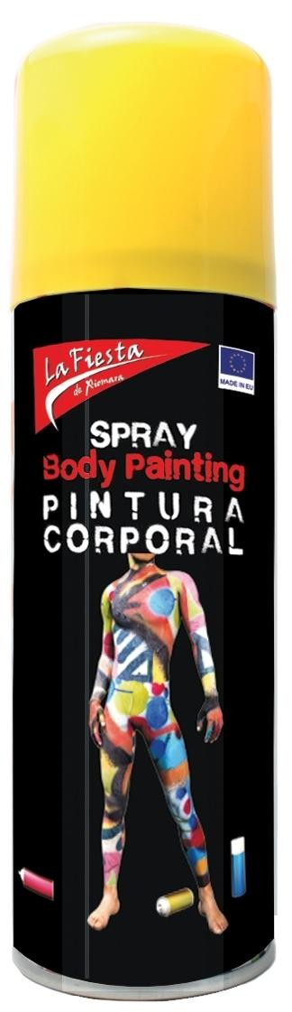 SPRAY AMARILLO PIEL BODY PAINT 200ML