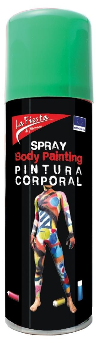 SPRAY VERDE PIEL BODY PAINT 200ML