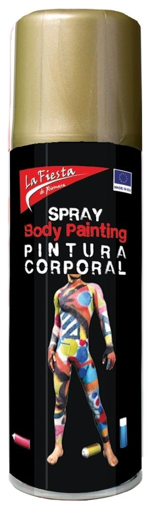 SPRAY ORO PIEL BODY PAINT 200ML