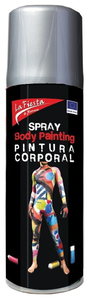 SPRAY PLATA PIEL BODY PAINT 200ML