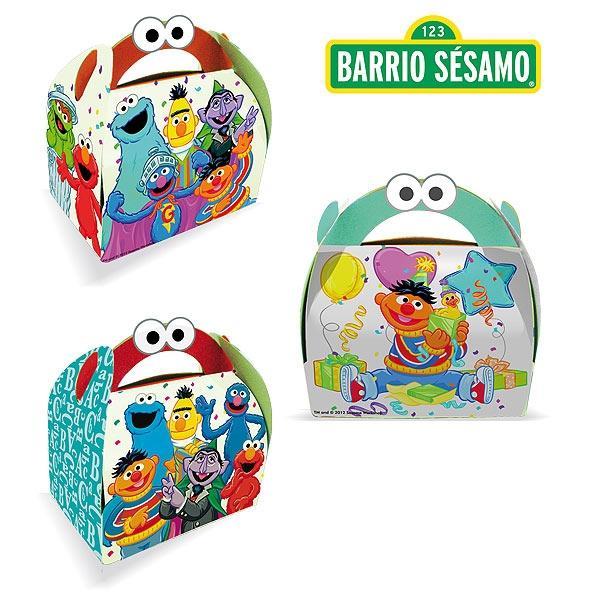 CAJITA BARRIO SESAMO*36 R-5509