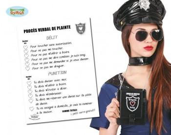 G18153 BLOCK NOTAS POLICIA