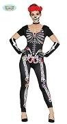 G84436 MEXICAN SKELETON ADULTA TALLA M-L 42-44 SPANDEX