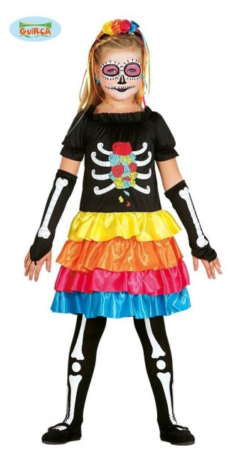 DISFRAZ DE GIRL SKELETON INFANTIL