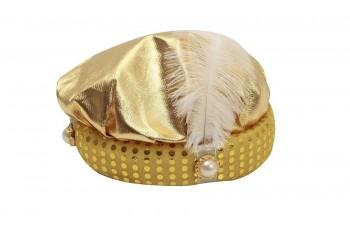 201627 Sombrero De Paje Dorado