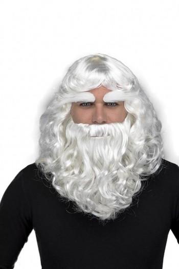 205573 Peluca Papa Noel con Barba y Cejas