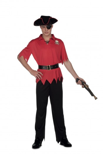 205917 T-M/L Pirata Rojo