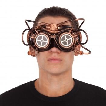 207548 Máscara Steampunk Cobre