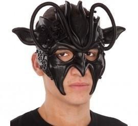 207553 Máscara Completa Steampunk Negra