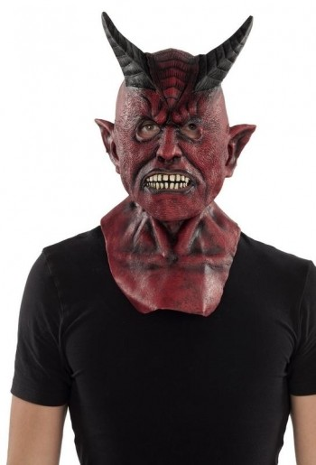 207980 Complete Devil Latex Mask