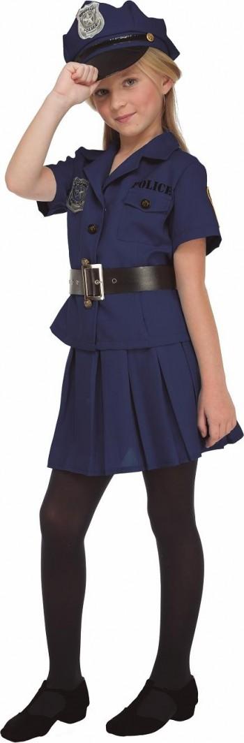 DISFRAZ DE Policía niña