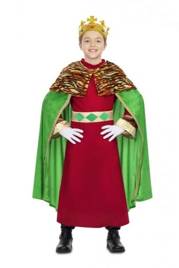 DISFRAZ DE Rey Mago Verde